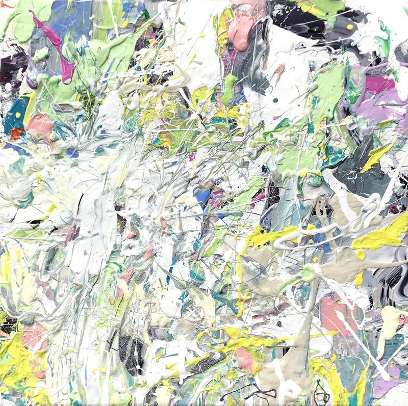 Adam COHEN - Peinture - White Rabbit