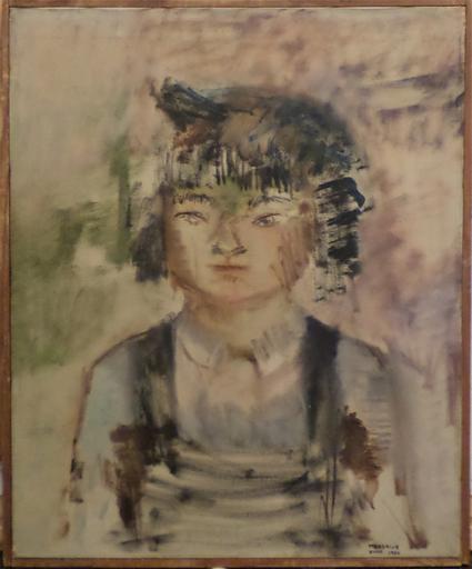 Jean S. MARGOLIN - Peinture - Asian Portrait
