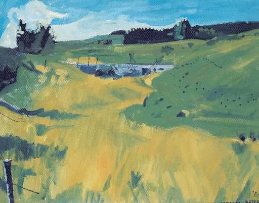 Maxwell Bennett BATES - Pintura - Untitled - Alberta Landscape