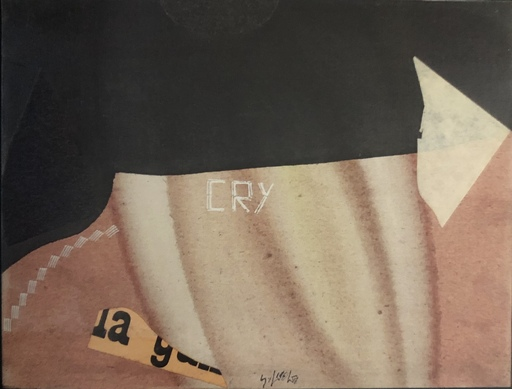 Sergio DANGELO - Painting - Cry