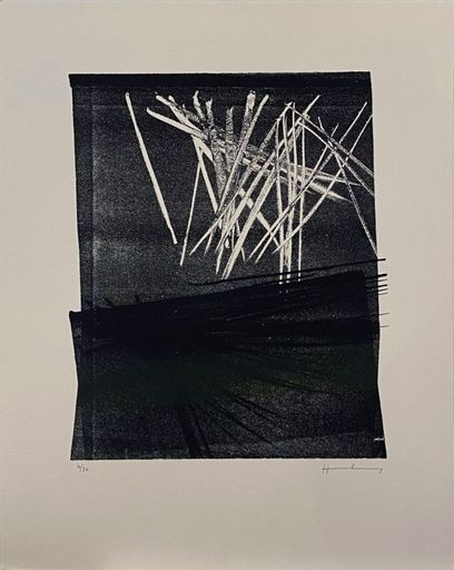 Hans HARTUNG - Stampa-Multiplo - L1977-13