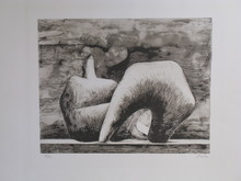 Henry MOORE - Stampa Multiplo - *Reclining Figure Pointed C. 543