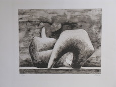 Henry MOORE - Print-Multiple - *Reclining Figure Pointed C. 543