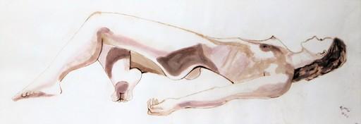 R.CAVALIÉ - Drawing-Watercolor - Belle