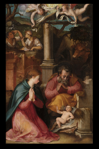 Carlo PORTELLI - Painting - Nativity