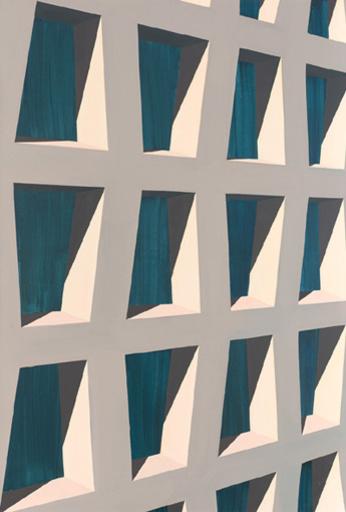 Tim TRANTENROTH - Pittura - Concrete grid