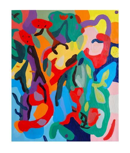Sébastien COUEFFIC - Peinture - floraison 2