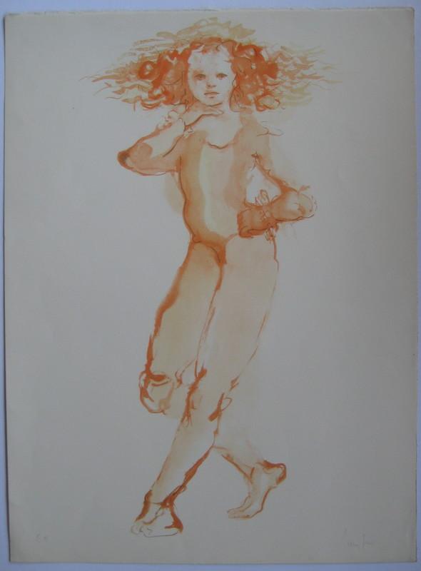 Leonor FINI - Print-Multiple - LITHOGRAPHIE SIGNÉE CRAYON ANNOTÉE EA HANDSIGNED LITHOGRAPH
