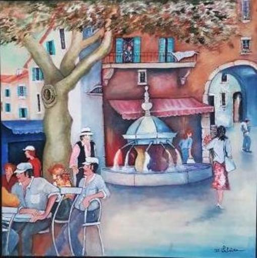 Jean-Claude LELIEVRE - Peinture - la provence