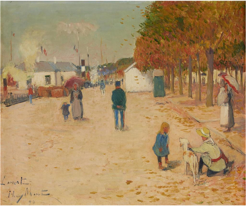 Henry MORET - Painting - Lorient