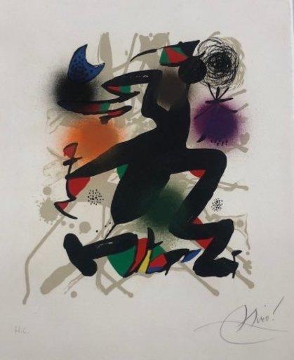 Joan MIRO - Druckgrafik-Multiple - Joan Miró Litografo III