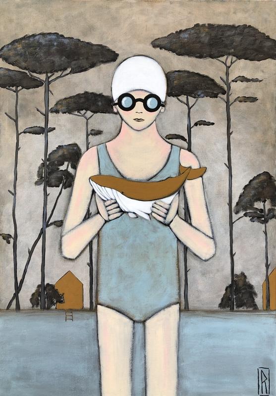 Raoul P. BROSSEAU - Painting - Fierté