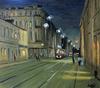 Valeriy NESTEROV - Painting - Novokuznetskaya street. Moscow
