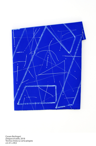 "Cesare BERLINGERI - Pittura - ""Disegno di stelle"""