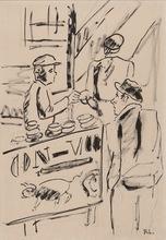 费尔南‧雷杰 - 水彩作品 - Les Ouvriers, étude pour la ville