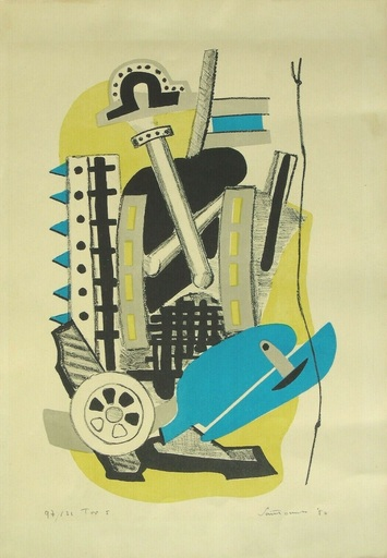 Giuseppe SANTOMASO - Print-Multiple - Senza titolo