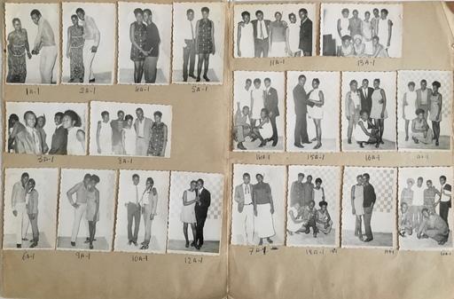Malick SIDIBÉ - Fotografie - Les confrères le 28-3-1970