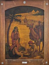 """Zeev RABAN - Painting - """"Halachma Anya"""" (The Bread of affliction)"""