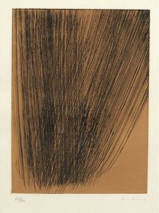 Hans HARTUNG - Estampe-Multiple - Héraclite planche 4