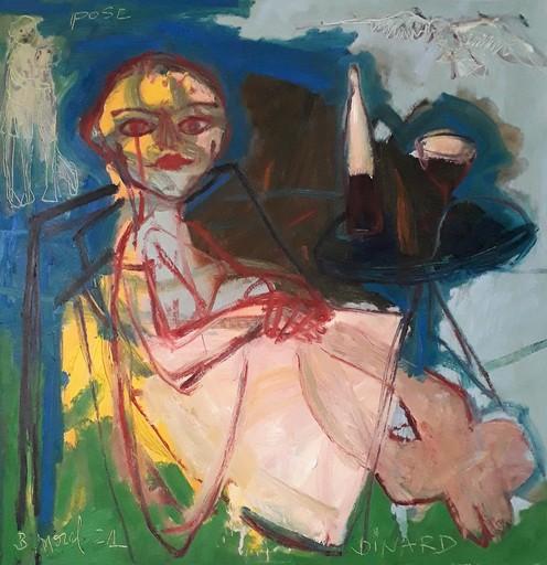 Bernard MOREL - Gemälde - POSE...DINARD.
