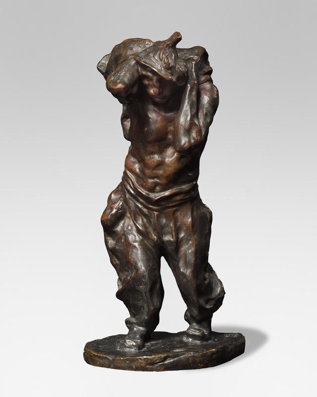 Bernhard HOETGER - Sculpture-Volume - Le charbonnier