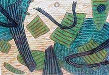 Henri GOETZ - Disegno Acquarello