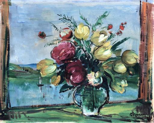 Paul BRACHETTI - Gemälde - bouquet