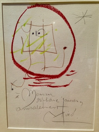Joan MIRO - Painting - Composition, Brossa, Jean and others