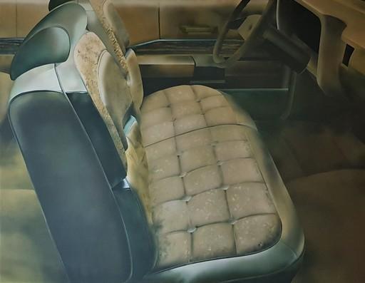 John SALT - 绘画 - ELECTRA I - 1969