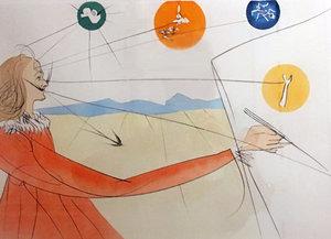 萨尔瓦多·达利 - 版画 - Dalinean Prophecy