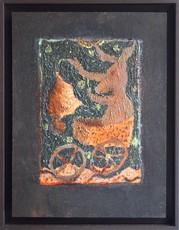 Frédéric COURAILLON - Painting - Enluminure -