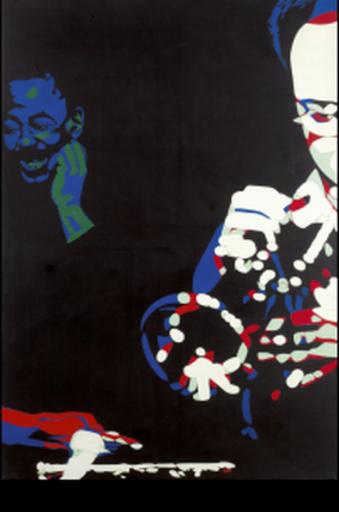 Bernard RANCILLAC - Painting - Chez Mac Gregor