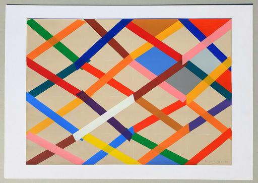 Piero DORAZIO - Druckgrafik-Multiple - Composizione