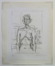 Alberto GIACOMETTI (1901-1966) - Nude with Flowers (Nu aux fleurs)