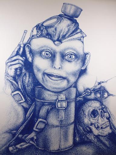 Joey SCHMIDT MULLER - Drawing-Watercolor - No Killing