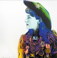 Andy WARHOL (1928-1987) - Annie Oakley, from Cowboys and Indians by Andy Warhol