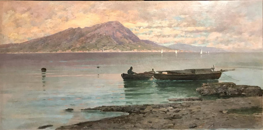 Federico CORTESE - Gemälde - Napoles