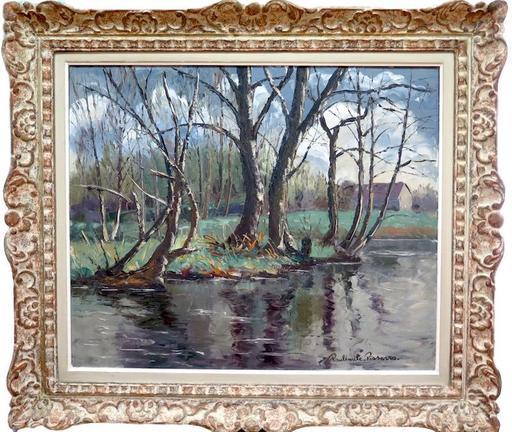 Paul Émile PISSARRO - Painting - Les iles à Cantepie