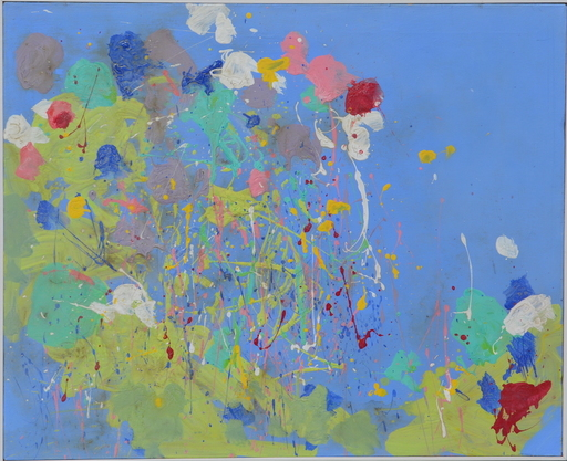 TING Walasse - Painting - Untitled