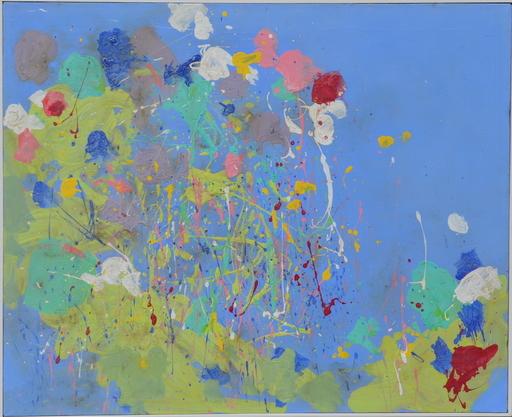 TING Walasse - Pintura - Untitled