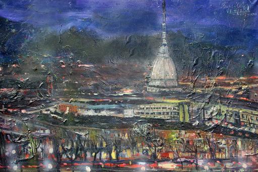 Bruno BONALDI - Painting - Torino