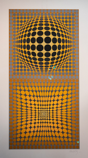 Victor VASARELY - Estampe-Multiple - VY 28 A VP-118