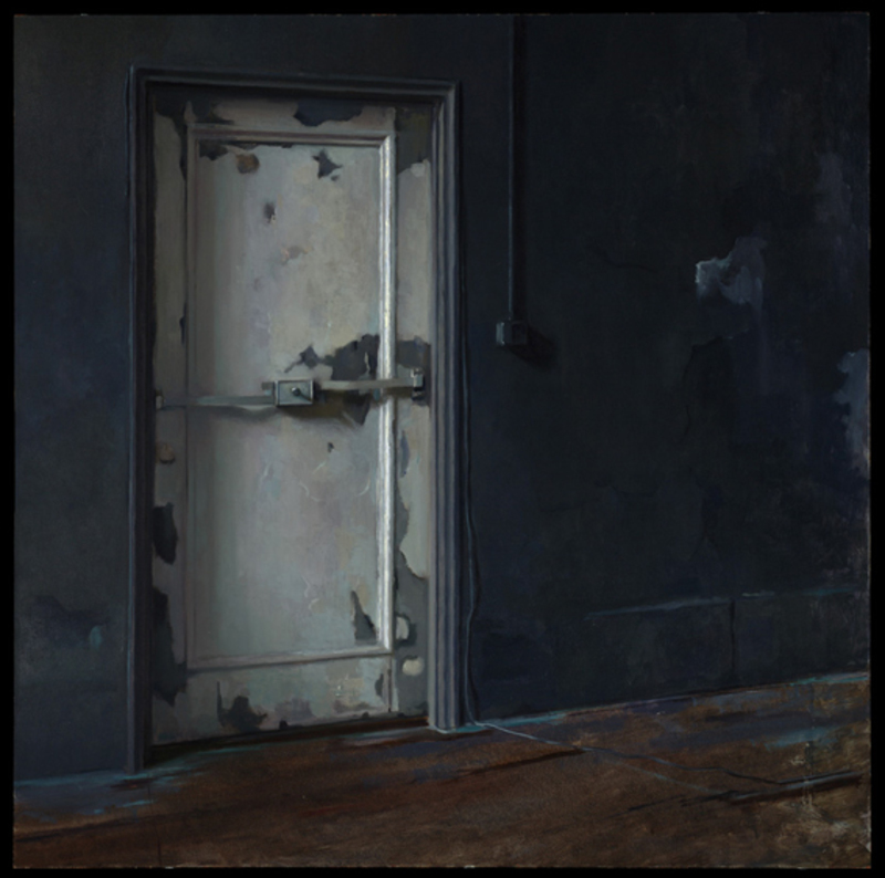 Kate LEHMAN - Painting - Doorway