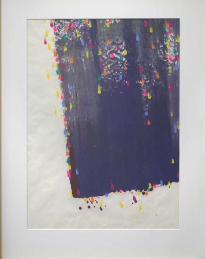 HSIAO Chin - Drawing-Watercolor - La cascata