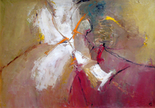 "Levan URUSHADZE - Painting - ""Angel"""
