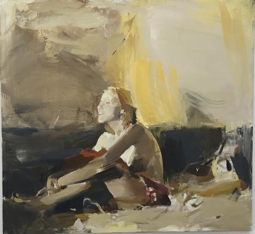 Vladimir SEMENSKIY - Painting - On The Sunset