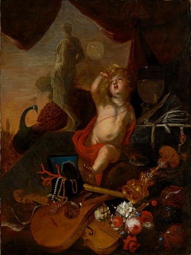 Federico BIANCHI - Gemälde - Allégorie de la vanité