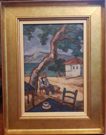 Stefan DIMITRESCU - Pintura - Ismail's café