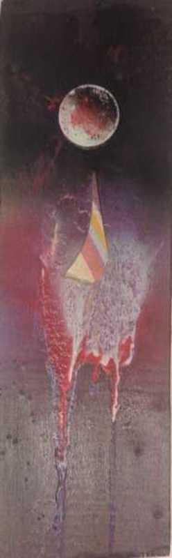 Sergio DANGELO - Peinture - Cometa come età