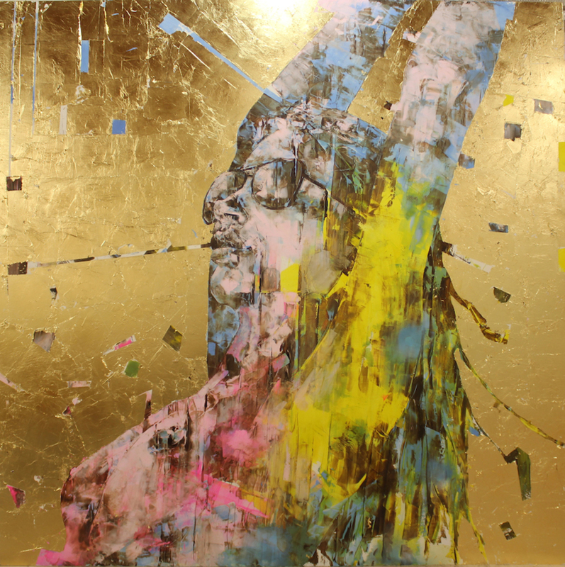 Marco GRASSI - Painting - The Di-Gold Experience 200-22